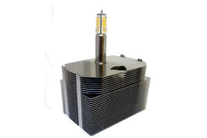 12mm Heat Pipe Cools 130W LED Light Engine