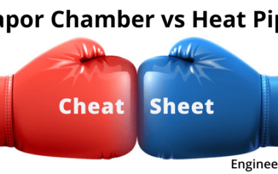 Vapor Chamber vs Heat Pipe Cheat Sheet
